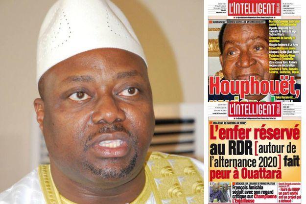 Alafé Wakili, 48 ans, directeur général du groupe Socef-NTIC éditeur de l'Intelligent d'Abidjan