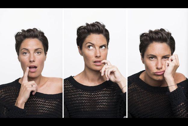 Alessandra Sublet. L'audience de son émission «C à vous» ne cesse de progresser.