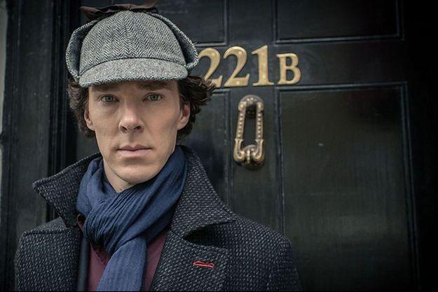 "Benedict Cumberbatch incarne le ""Sherlock"" de la BBC."
