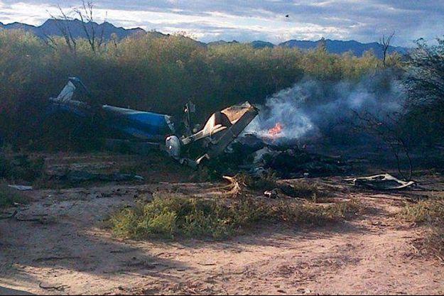"""Crash des hélicoptères de l'emission """"Dropped"""" dans la province de la Rioja en Argentine."""