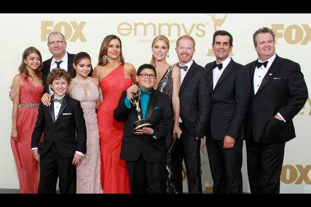 La série Modern Family a triomphé dimanche soir.