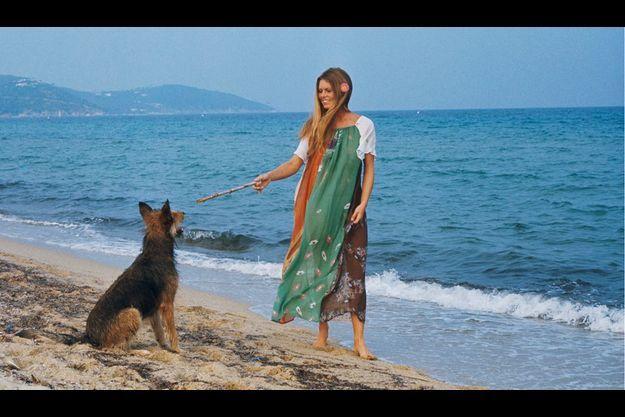 Saint-Tropez - Septembre 1974 - Portrait de Brigitte Bardot à l'heure de son 40e anniversaire.
