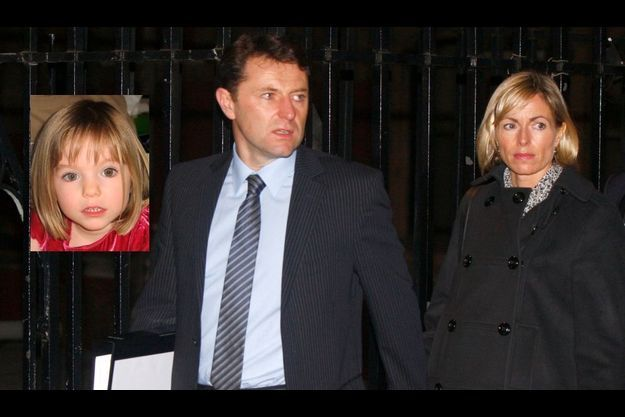 Kate et Gerry McCann à la sortie de l'audience de la Commission Leveson
