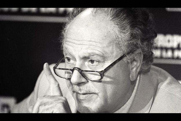 Michel Polac, en 1987