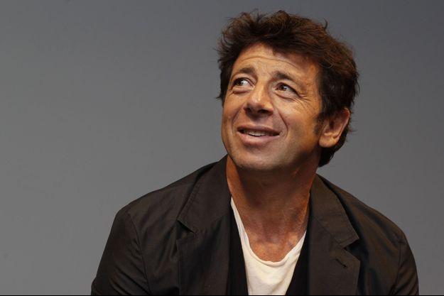 Patrick Bruel à Lille, le 4 septembre 2014.