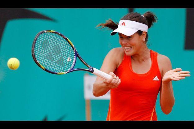Ana Ivanovic a remporté le tournoir de tennis de Roland-Garros en 2008.