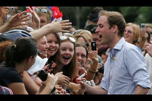Le prince William a susicité la ferveur populaire lors de son voyage aux antipodes.