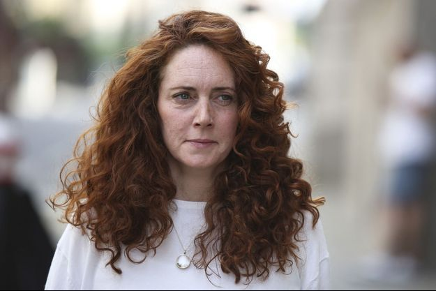 Rebekah Brooks à son arrivée mercredi au tribunal londonien d'Old Bailey.