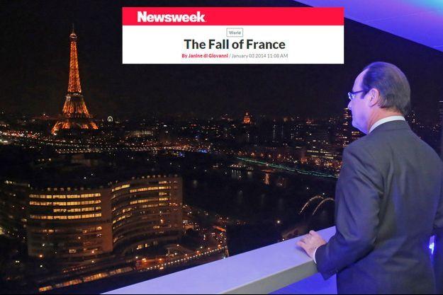 """Selon """"Newsweek"""" la France court à la faillite depuis l'élection de François Hollande."""