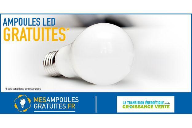 Ampoule LED (photo d'illustration non contractuelle)