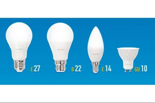 Les quatre sortes et modèles d'ampoules LED proposés par mesampoulesgratuites.fr