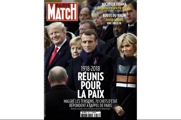 La couverture du numéro 3527 de Paris Match