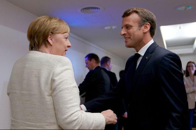 Angela Merkel et Emmanuel Macron le 20 juin dernier à Bruxelles.