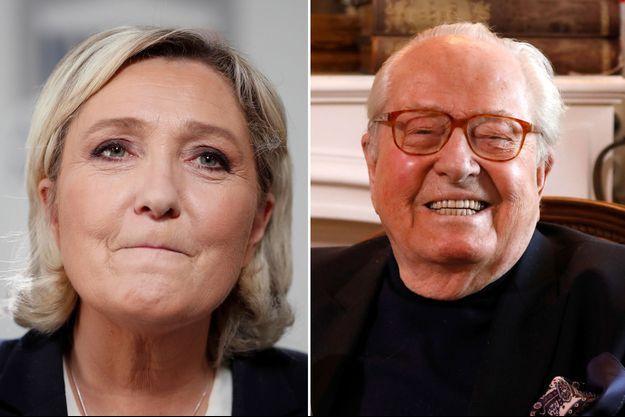 Jean-Marie Le Pen fêtera le 1er mai à Paris, sa fille Marine dans les Alpes-Maritimes