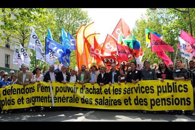 La mobilisation a été forte à Paris et dans les grandes villes de province.