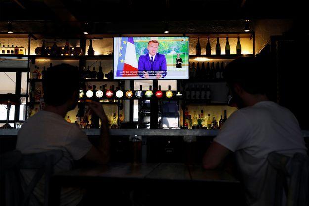 Un total de 23,6 millions de téléspectateurs ont regardé dimanche soir l'allocution du président Emmanuel Macron.