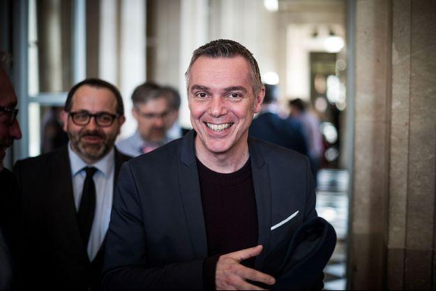 Jean-François Cesarini à l'Assemblée nationale en mars 2019.