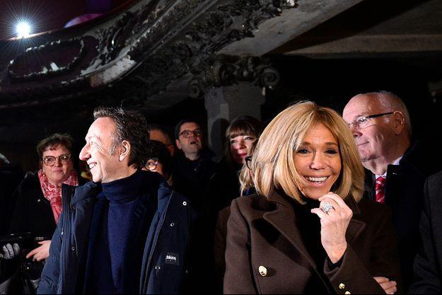 Brigitte Macron a accompagné Stéphane Bern à Bar-le-Duc.