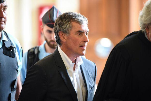 Jérôme Cahuzac à Paris le 15 mai dernier.
