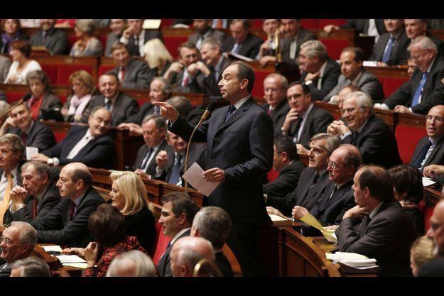 Jean-François Copé à l'Assemblée nationale le 20 novembre dernier.