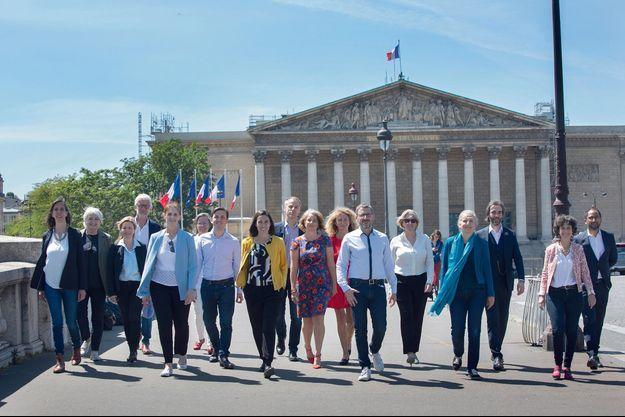 Autour d'ex-«marcheurs», un nouveau groupe baptisé Ecologie, Democratie, solidarite » vient d'être créé à l'Assemblée nationale.