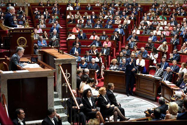 Edouard Philippe a fait face aux députés remontés de l'opposition.