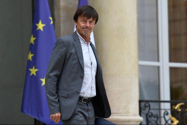 Nicolas Hulot le 28 juillet 2017.