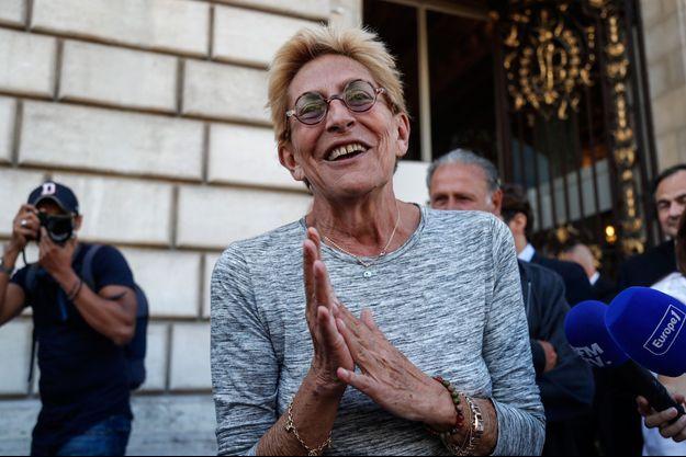 Isabelle Balkany, ici mi-septembre à la mairie de Levallois.