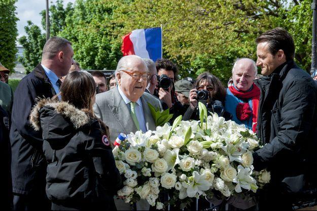 Jean-Marie Le Pen mardi à Paris.