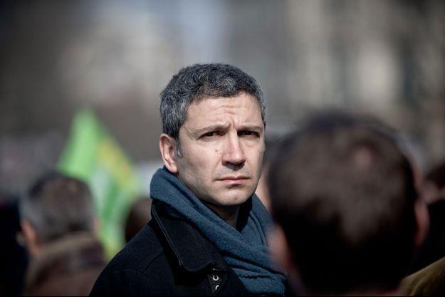 Christophe Najdovski à Paris, le 11 mars dernier.