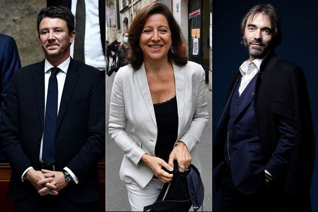 Benjamin Griveaux (le 20 juin à l'Assemblée nationale), Agnès Buzyn (dimanche à Paris) et Cédric Villani (le 18 février à Paris).