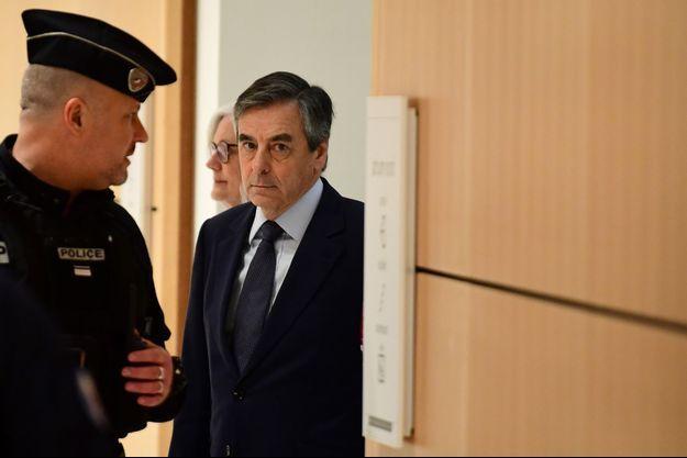 François Fillon, jeudi au tribunal