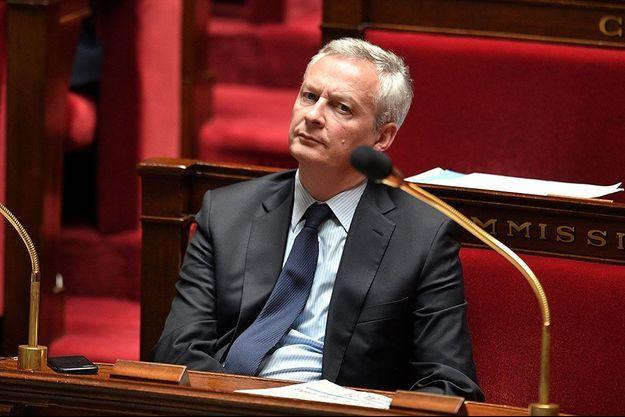 Bruno Le Maire mardi à l'Assemblée nationale.