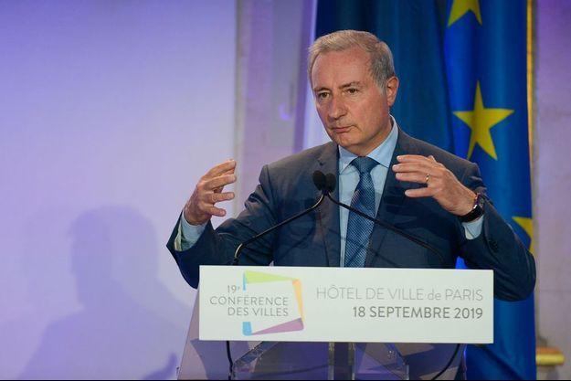Jean-Luc Moudenc à Paris le 19 septembre.