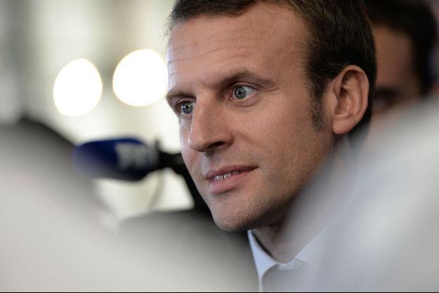 Emmanuel Macron mardi à Besançon.