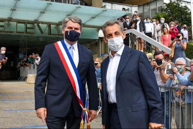 Nicolas Sarkozy a assisté au mariage de son ami Franck Louvrier, à La Baule.