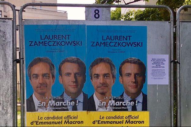 Laurent Zameczkowski est candidat LREM dans la 6e circonscription des Hauts-de-Seine.