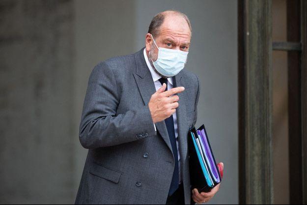 Le ministre de la Justice Eric Dupond-Moretti, la semaine dernière à l'Elysée.