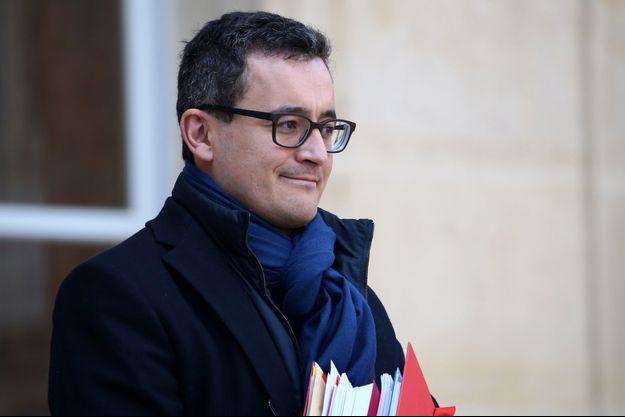 Le ministre des Comptes publics, Gérald Darmanin, ici à l'Elysée en février.