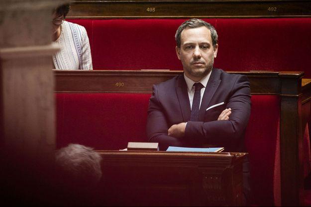 Adrien Taquet, ici à l'Assemblée nationale en mai 2020.