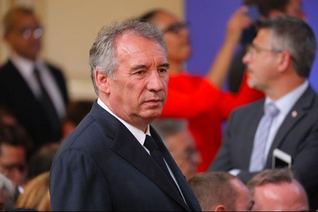 François Bayrou en mai dernier.