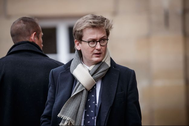 François-Xavier Lauch, chef de cabinet d'Emmanuel Macron.