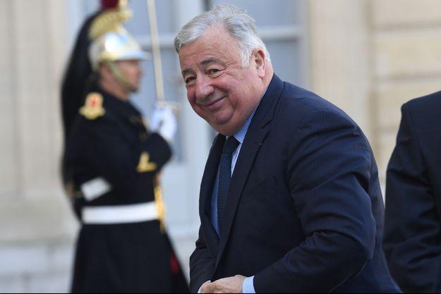 Gérard Larcher à l'Elysée, le 11 mars.