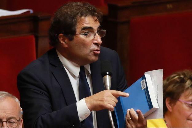 Christian Jacob, président du groupe LR à l'Assemblée.