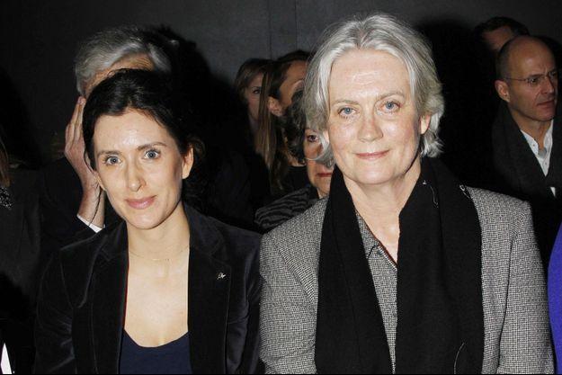 Marie Fillon et sa mère Penelope, ici en 2012.