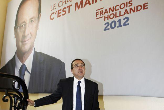 Faouzi Lamdaoui, le conseiller démissionnaire de François Hollande, photographié en mai 2012.
