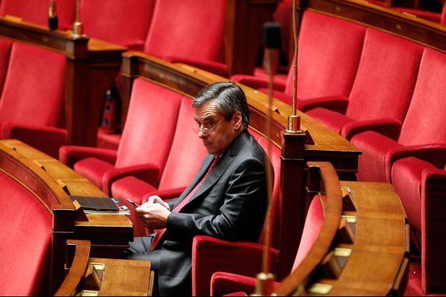 François Fillon en novembre 2015 à l'Assemblée nationale.
