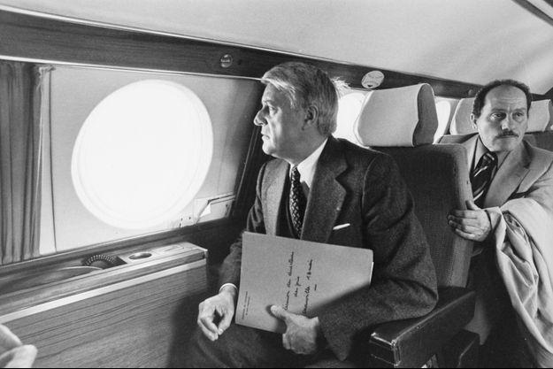 Robert Boulin en mai 1977.