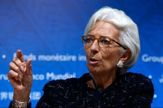 Christine Lagarde au Pérou en octobre dernier.