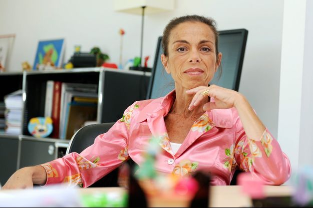 L'ex-patronne de l'Institut national de l'audiovisuel (Ina) Agnès Saal, ici à Bry-sur-Marne en 2014.